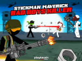 Spil Stickman Maverick: Bad Boys Killer